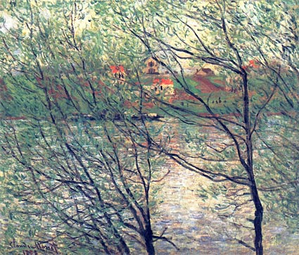 the-isle-grande-jatte-artist-Claude-Monet